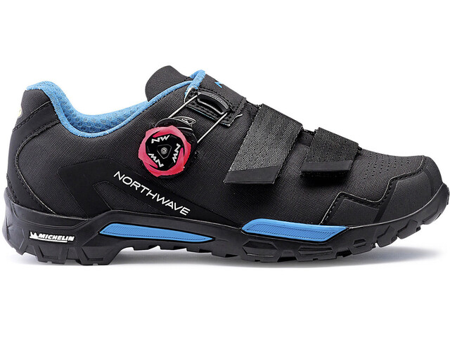 Northwave Outcross 2 Plus Shoes Women black/aqua